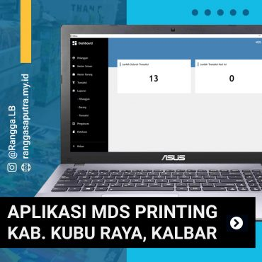 MDS Printing Application Kuburaya Kalbar