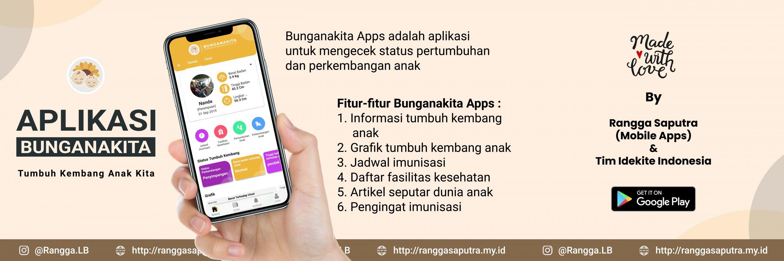 Bunganakita Application