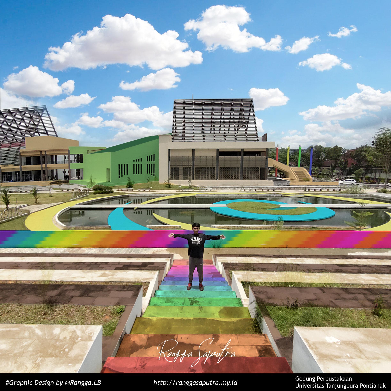 Gedung Perpustakaan Untan Coloring