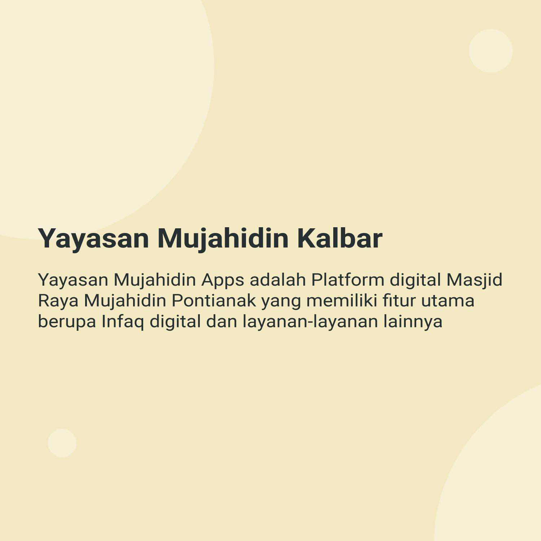 Yayasan Mujahidin Kalbar