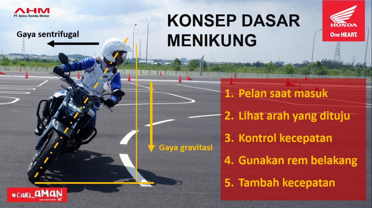 Edukasi Safety Riding SMKN 1 Putussibau oleh Astra Motor Honda